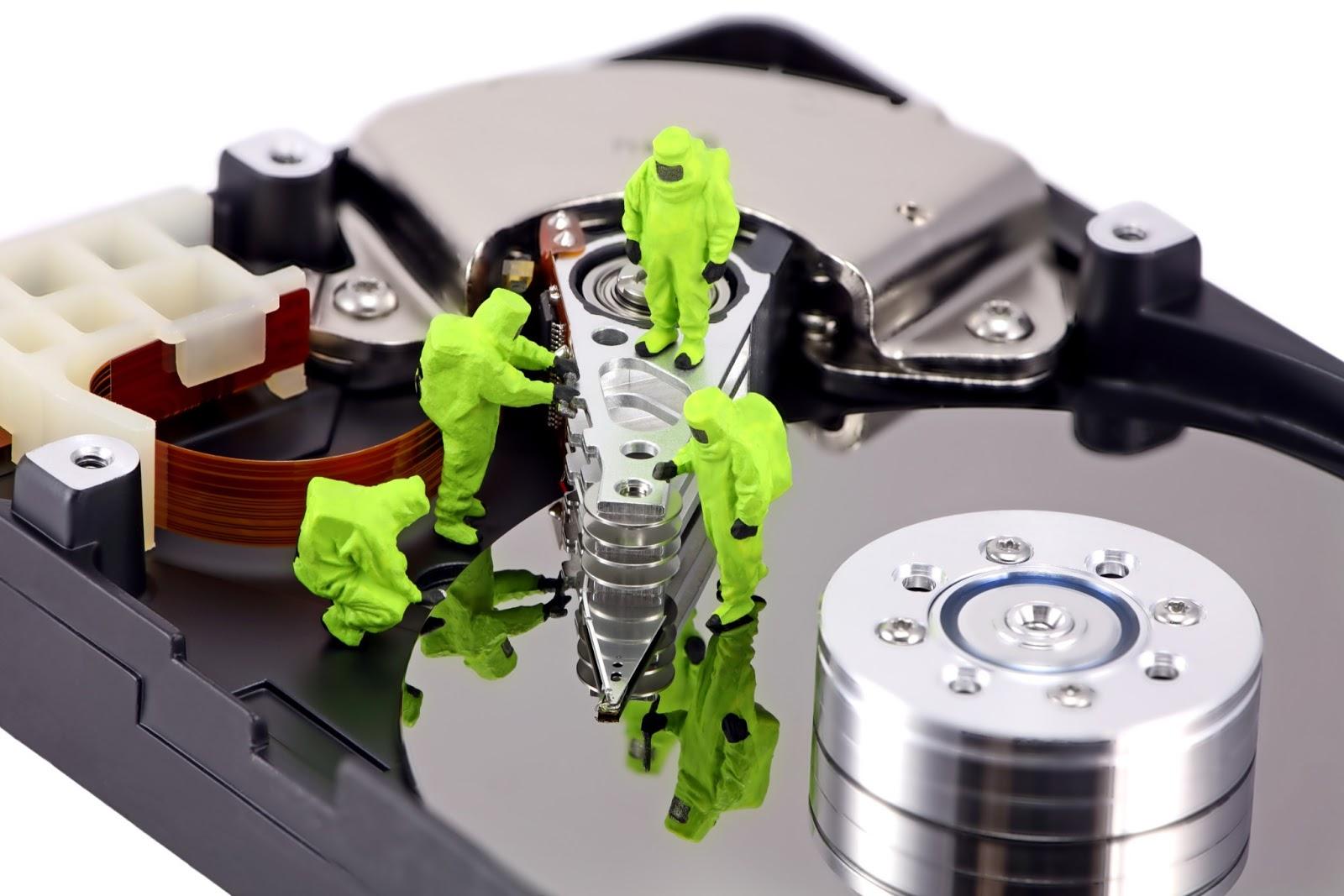 Recupero dati persi da hard disk a roma